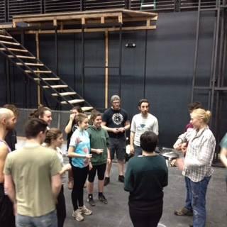 Macbeth blood rehearsal
