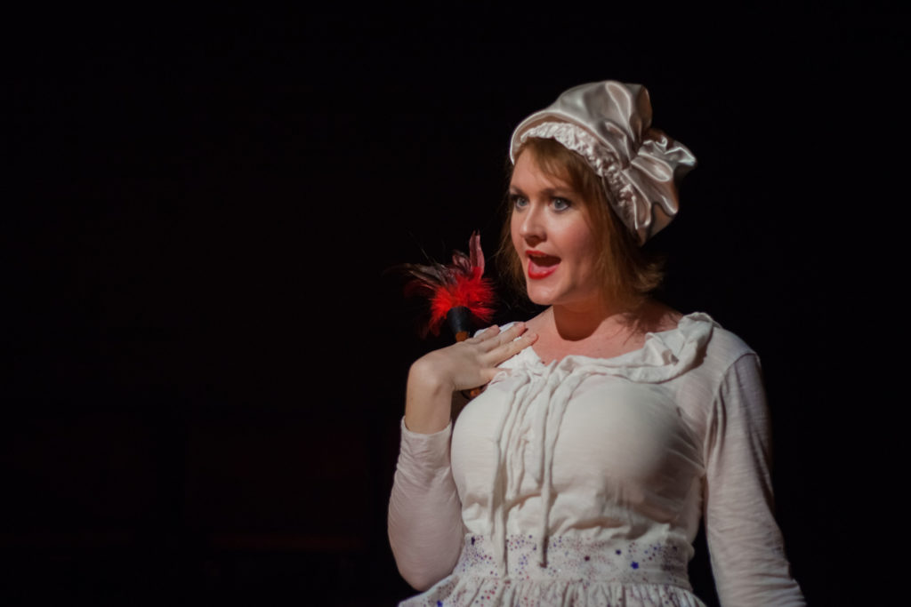 McKenna Twedt as Dolley Madison. The Taming at (CoHo, 2018). By Neverland Images LLC