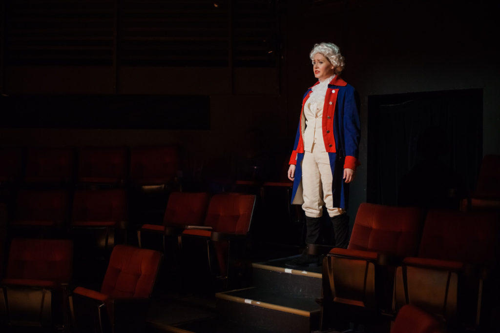 McKenna Twedt as George Washington. The Taming (CoHo, 2018). By Neverland Images LLC