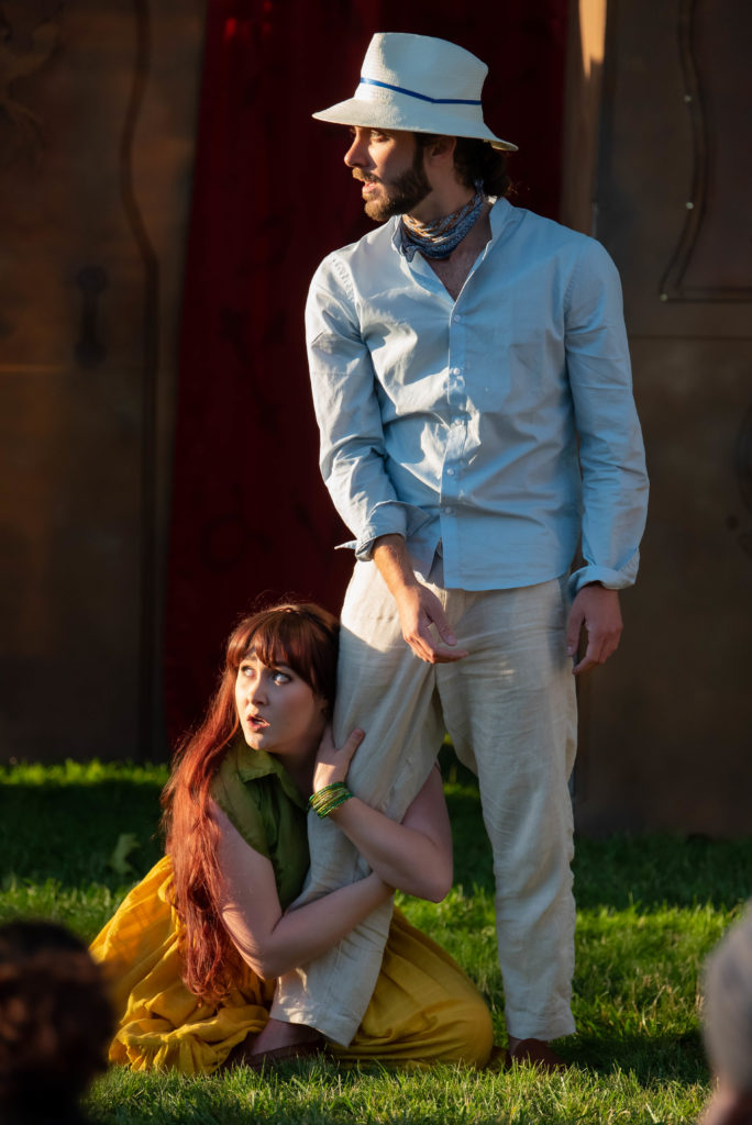 Sarah Aldrich, Walter Petryk. The Comedy of Errors (Experience Theatre ProjectCasey Campbell Photography.