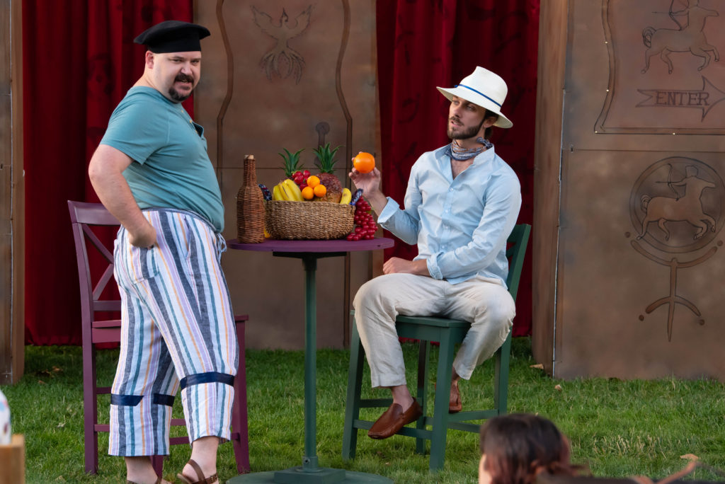 Steven Grawrock, Ty Hendrix. The Comedy of Errors (Experience Theatre ProjectCasey Campbell Photography.