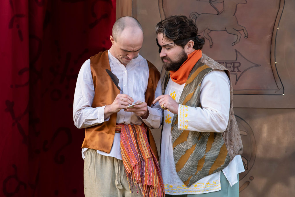 Joey Kelly, Ryan Pfeiffer. The Comedy of Errors (Experience Theatre ProjectCasey Campbell Photography.